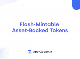 Flash-Mintable Asset-Backed Tokens